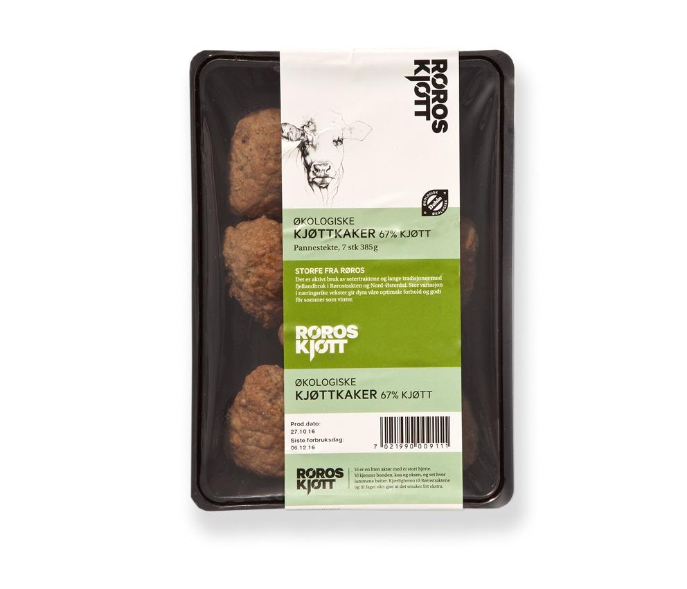 Økologiske kjøttkaker Røroskjøtt